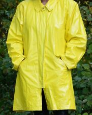 Gelber Lackmantel, Regenmantel aus den USA, J.G. Hook - Vintage