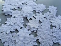 WHITE SYNTHETIC QUALITY SNOWFLAKE CHRISTMAS PARTY TABLE SPRINKLES CRAFTCONFETTI