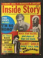 Janis Joplin - Jimi Hendrix - 1971 INSIDE STORY Magazine - Scandal, Gossip -...