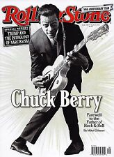 NEW Rolling Stone Magazine Chuck Berry Farewell 4/20 2017 USA Edition No Label