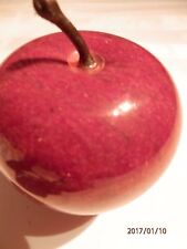 Red Apple Paperweight Great Gift For Teacher