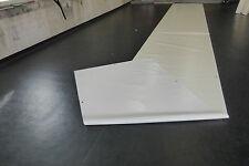 4,50€/m² PVC Abdeckplane LKW Plane 10m x 1,50m ca. 1280g/qm weiß/creme mit Ösen