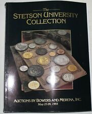 Stetson University Collection Bowers & Merena Auction Catalog May 1993 WW3P