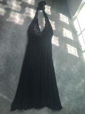 Bebe Black Halter Dress Size Small Euc