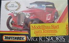 MATCHBOX PK-306 - MG TC Sports + Katalog-Gutschein- 1:32 - Modellbausatz Kit NEU