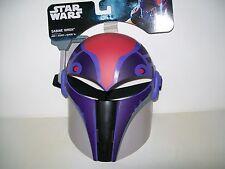 Star Wars Rebels Sabine Wren Full Face Molded Mask Adjustable Strap New