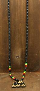 Beaded necklace Marley Rasta Jamaica