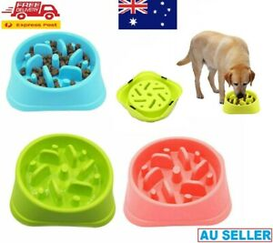 Fun Feeder Dog Bowl Slow Feeder Stop Bloat for Dogs Cats Pet Interactive Dishes