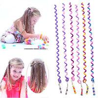 Cute 6 x espiral tornillo horquilla rulo rizador de pelo para niñas niñoSE