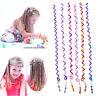 Hot! Lovely Cute 6Pcs Spiral Screw Hairpin Hair Curler Barrette for Girls Kid ^.