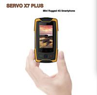 "X7 Plus Waterproof Mini Rugged 4G LTE Smartphone 2.45"" Fingerprint Walkie Talkie"