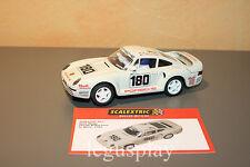 Slot SCX Scalextric Altaya Duelos Míticos - Porsche 959 Le Mans 1986 René Metge