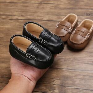 Fashion Baby Boy Pram Shoe Infant Toddler Slip on Comfortable Boat Shoes Trainer