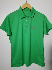 1 NWT RED JACKET WOMEN'S POLO, SIZE: LARGE, COLOR: GREEN (J133)