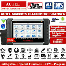 Global Version Autel MK808TS Wifi BT All Systems Diagnostic Scanner TPMS Service