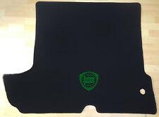 Autoteppich Kofferraum für Lancia Fulvia Coupe 1teilig schwarz-grün Neuware