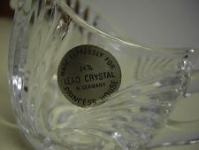 Lead  Crystal Princess House Cream and Sugar Bowl