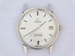 Vintage Omega Geneve Seamaster Automatic 166.002 Cal. 565 Date Steel Watch