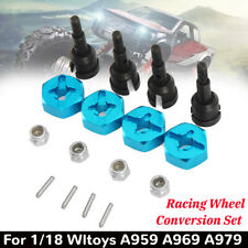 NEW Racing Axle Wheel Conversion Set For On-road RC 1/18 Wltoys A959 A969