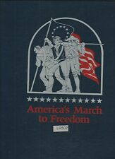 America's March To Freedom Mint-Stamp Panels RET. $561.00 (LR502)