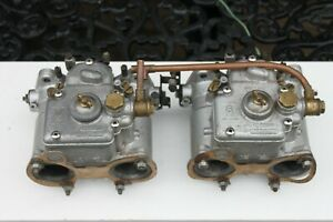 weber 40 dcoe34 40dcoe35 twin carburettors