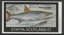 GB Locals - Staffa 3512 - 1982  FISH imperf souvenir sheet unmounted mint