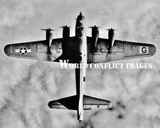 USAAF WW2 B-17 Bomber From Above 8x10 Photo 385th BG Great Ashfield ETO WWII
