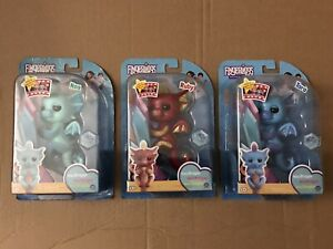 Lot of (3) WowWee Fingerlings Baby Dragons Tara, Noa, and Ruby NEW $27.99