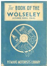 Wolseley 10/40 12/48 4/44 4/50 15/50 1500 15/60 (1946-61) I Proprietari Manuale di riparazione