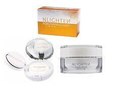Nlighten CC Cushion + Nlighten Cloud Cream + Nlighten Kojic Papaya Soap Set
