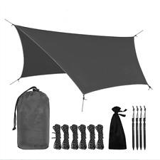Camping Rain Fly Tent Tarp Waterproof Ripstop Nylon Shelter Canopy Lightweight