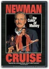 The Color of Money DVD New Paul Newman Tom Cruise Mary Elizabeth Mastrantonio
