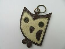 Chala Handbags Owl Keychain Coin Holder