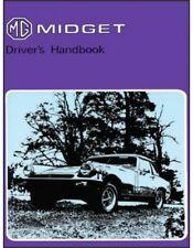 Mg Midget 1976 Mark 3 Driver'S Handbook Us Edition Glovebox Book