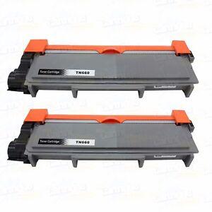 2PK TN660 Toner for Brother TN630 TN660 HL-L2340DW L2360DW L2320D L2380DW L2305W