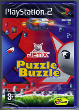 PS2 Jetix Puzzle Buzzle (2008), UK Pal, Brand New & Sony Factory Sealed