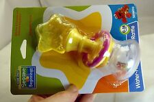 Sesame Street Beginnings Water- Filled Teether-Rattle 0-18 Months Yellow Pink