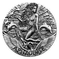 Australia 2015 Goddesses Of Olympus Aphrodite 2 oz Silver Coin with Box and COA