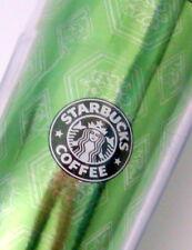 Starbucks Green Barista Acrylic Coffee Travel Mug Subtle White Dragon 2004