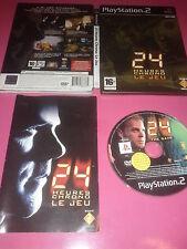 24 heures chrono Le jeu -  boîtier métal - playstation 2 - PAL - Complet PS2