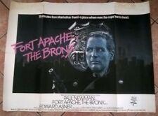 FORT APACHE THE BRONX 1981, ORIGINAL UK QUAD POSTER .