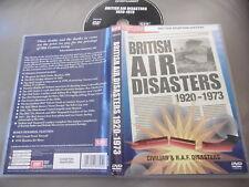 Británico Air Desastres 1920-1973 Civil & Raf R101 Farnborough DVD Pal Reg 0