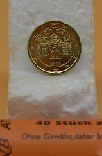 AUTRICHE 2008  : 1 pièce 20 cent UNC de rouleau