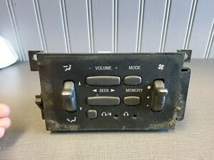1998-2001 Ford Explorer Mountaineer Rear A/C Radio Controls OEM