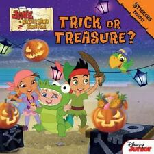 NEW - Jake and the Never Land Pirates Trick or Treasure?: Stickers Inside!
