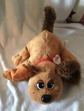 2007 Paw Prints Pound Puppies Puppy Brown Makes Noises Wags Tail Plush