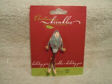 """DEPARTMENT 56 CHRISTMAS KRINKLES HOLIDAY PIN 56.39333 3"""" TALL"""