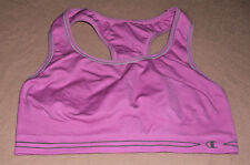 Sport Bra by Champion Pink Racerback Seemless Double Lined no Padding  Size M