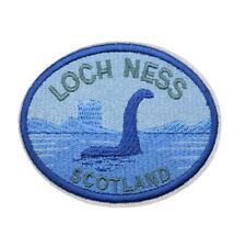 1 Écusson Brodé Thermocollant NEUF ( Patch ) - Monstre du Loch Ness Nessie