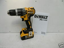 DEWALT XR 18V DCD796 COMBI HAMMER DRILL BARE UNIT + DCB184 5 AH LI-ION BATTERY